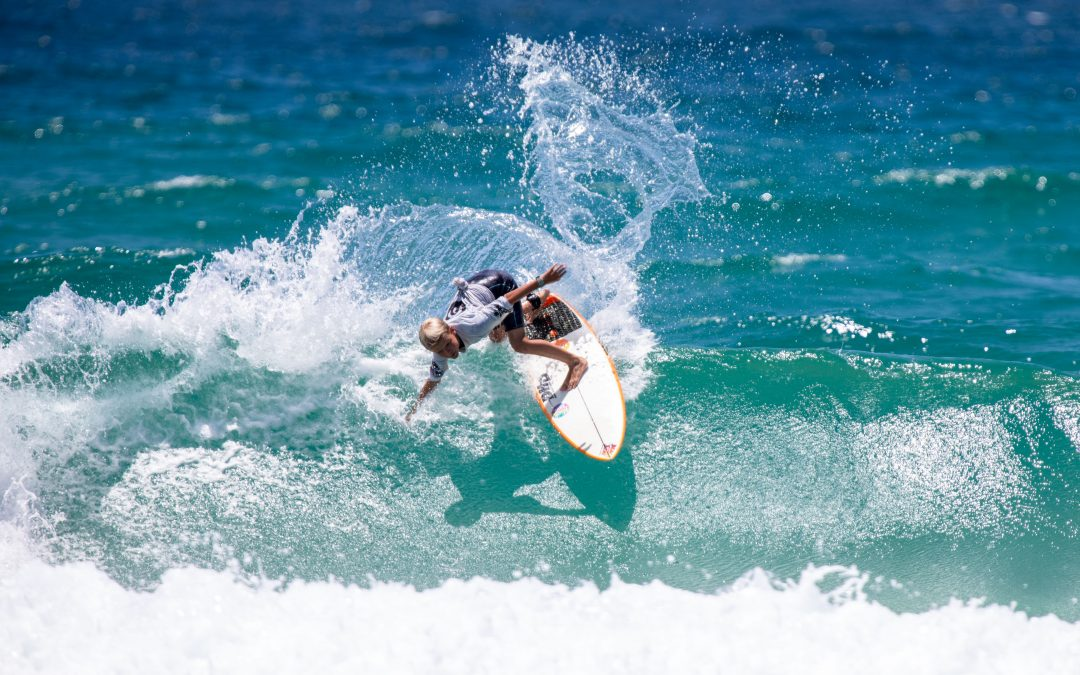 Incredible Surfing Displayed On Opening Day Of The Woolworths Surfer Groms Comp Gold Coast