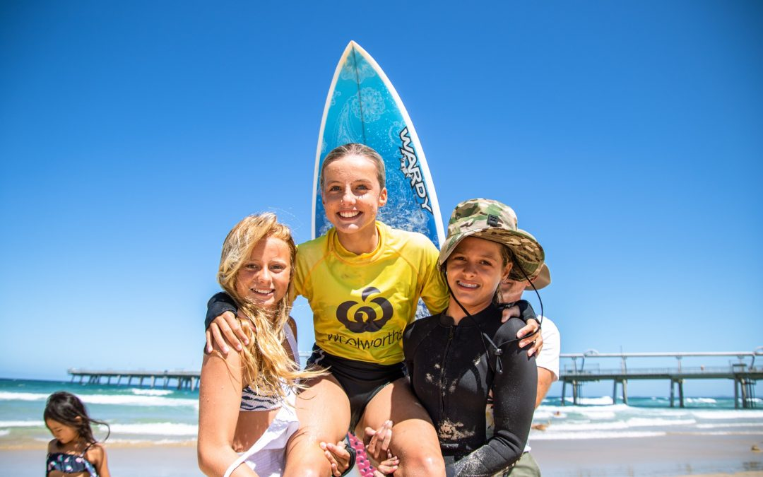 Groms Shine On Finals Day at the Woolworths Surfer Groms Comp!