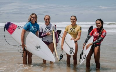 Six Champions have been crowned at Coolum Beach on the final day of the 2020 Rip Curl GromSearch