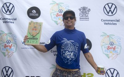 Sunshine Coaster Trevor Tripcony takes out two Masters wins at Volkswagen Queensland Surf Festival