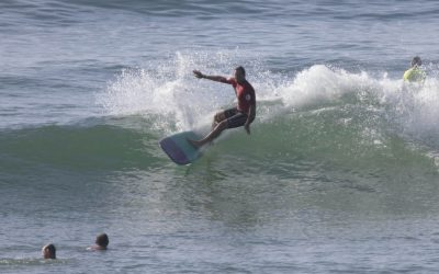 Sun, surf and classic Kombis: longboarding finals wrap up at Coolum Beach