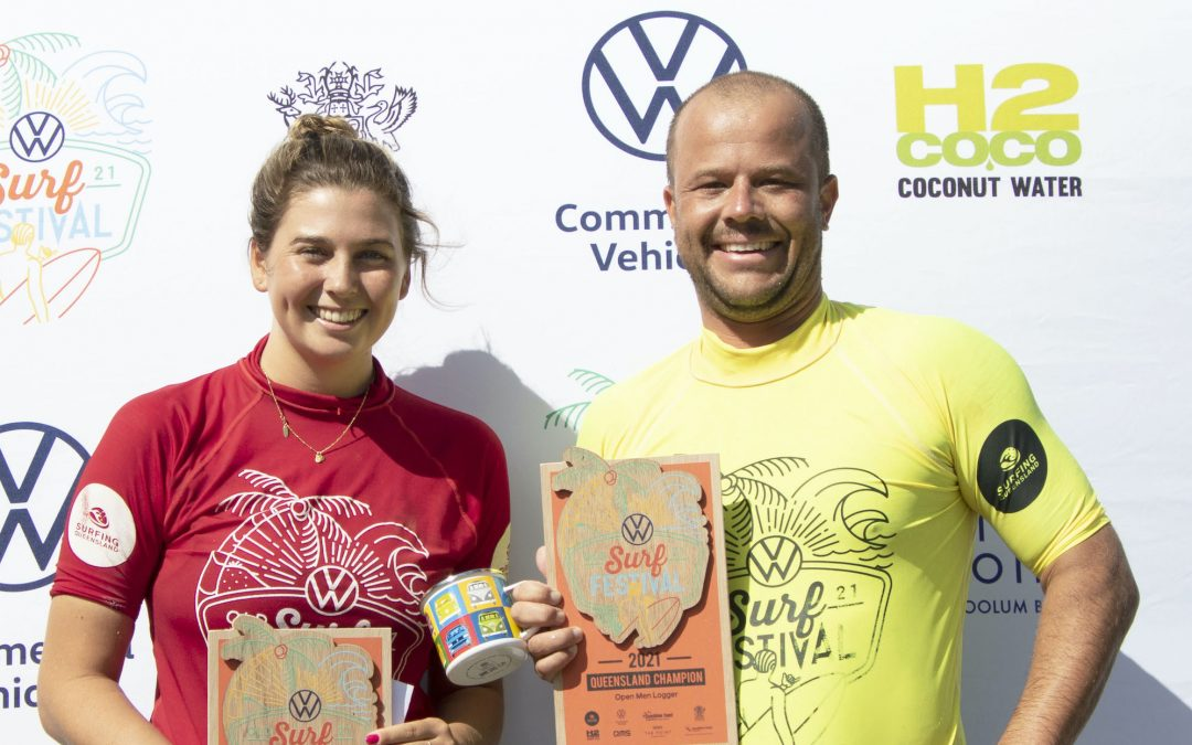 Lethbridge and Pollard double-up on wins and bring the Volkswagen Queensland Surf Festival to a close