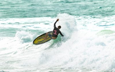 The Gold Coast Open x STAB Electric Acid Surfboard Test