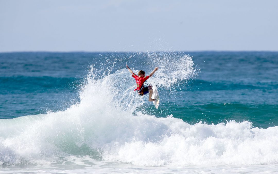 Sunshine Coasters win three out of four divisions of the Woolworths QLD Grom Titles in near-perfect conditions at Duranbah Beach