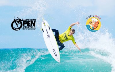Macro Mike set to fuel the Australian Open of Surfing