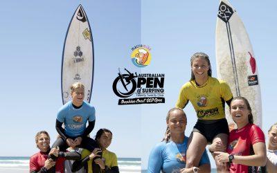 Mia Huppatz and Marlon Harrison take out the 2021 Macro Mike Australian Open of Surfing Sunshine Coast Pro