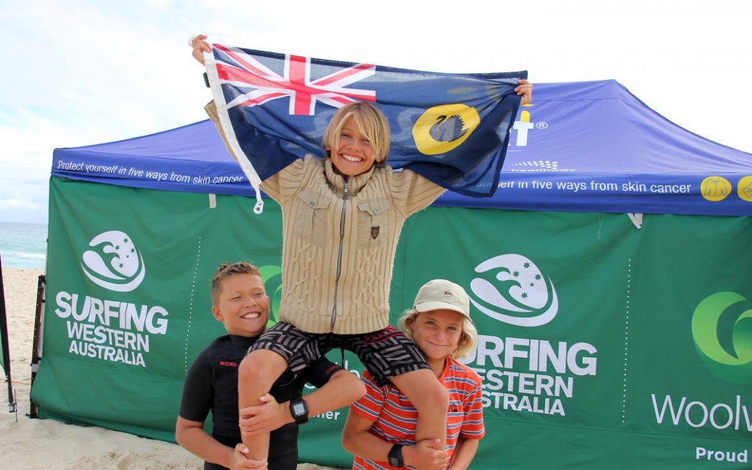 THREE NEW STATE CHAMPIONS CROWNED AT THE FINAL EVENT OF THE WOOLWORTHS WA JUNIOR SURF TITLES
