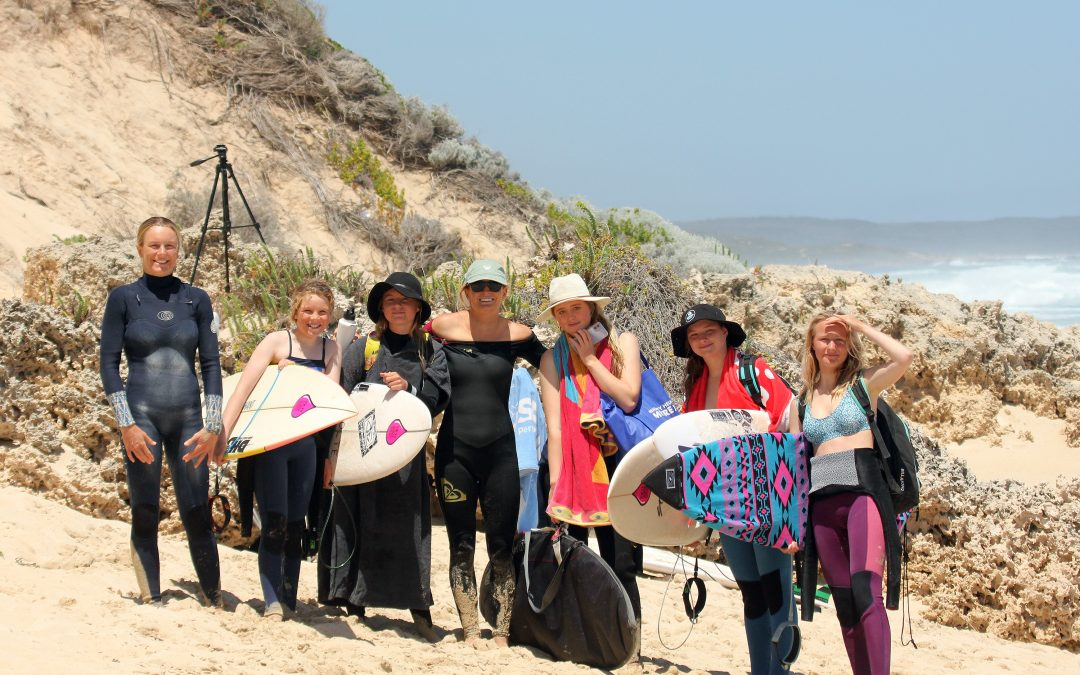 TOP PRO'S GIVE BACK TO THE NEXT GENERATION OF SURFING STARS AT WA JUNIOR TRAINING CAMP