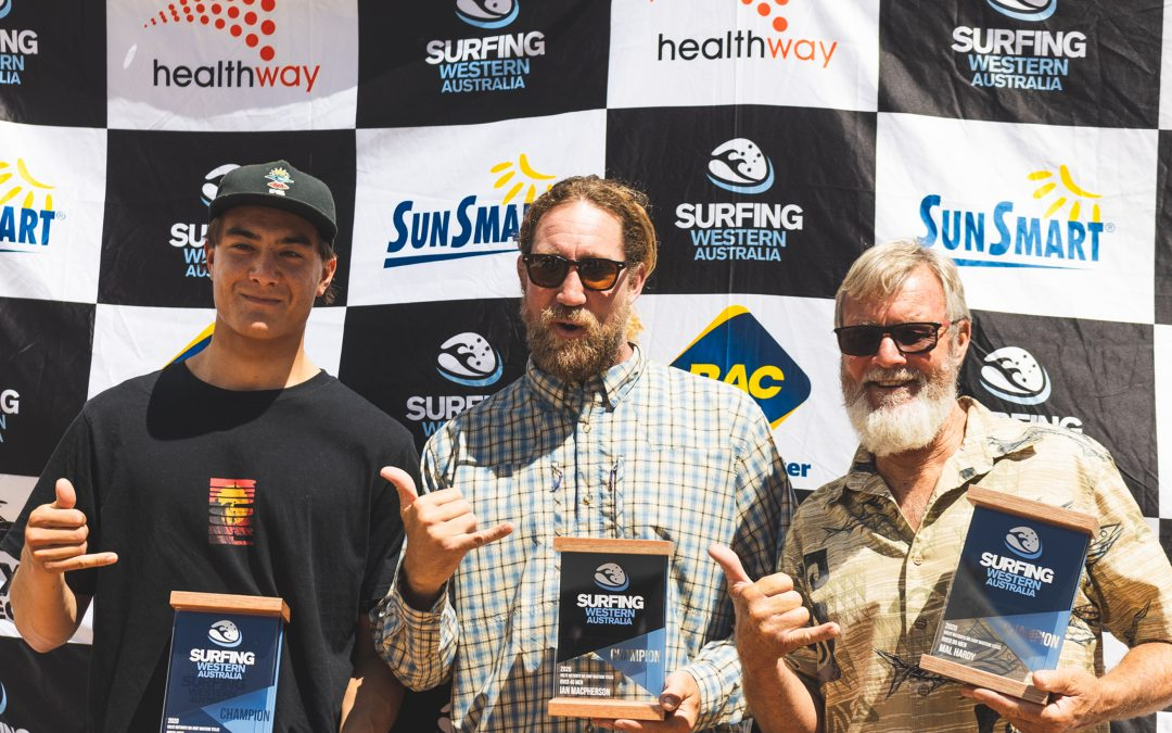 WESTERN AUSTRALIA'S STATE SURFING CHAMPIONS CROWNED FOR 2020