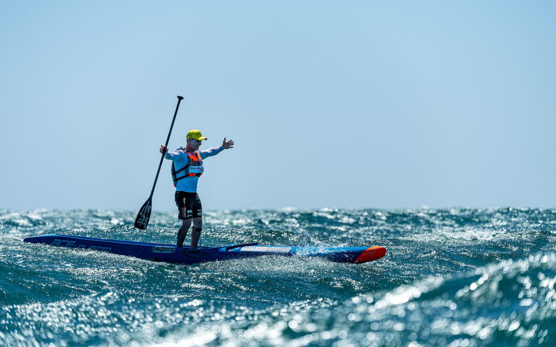 MICHAEL BOOTH AND JADE LANE WIN THE STAND UP SURF SHOP KING OF THE CUT – THE WORLD'S BEST DOWNWIND RACE