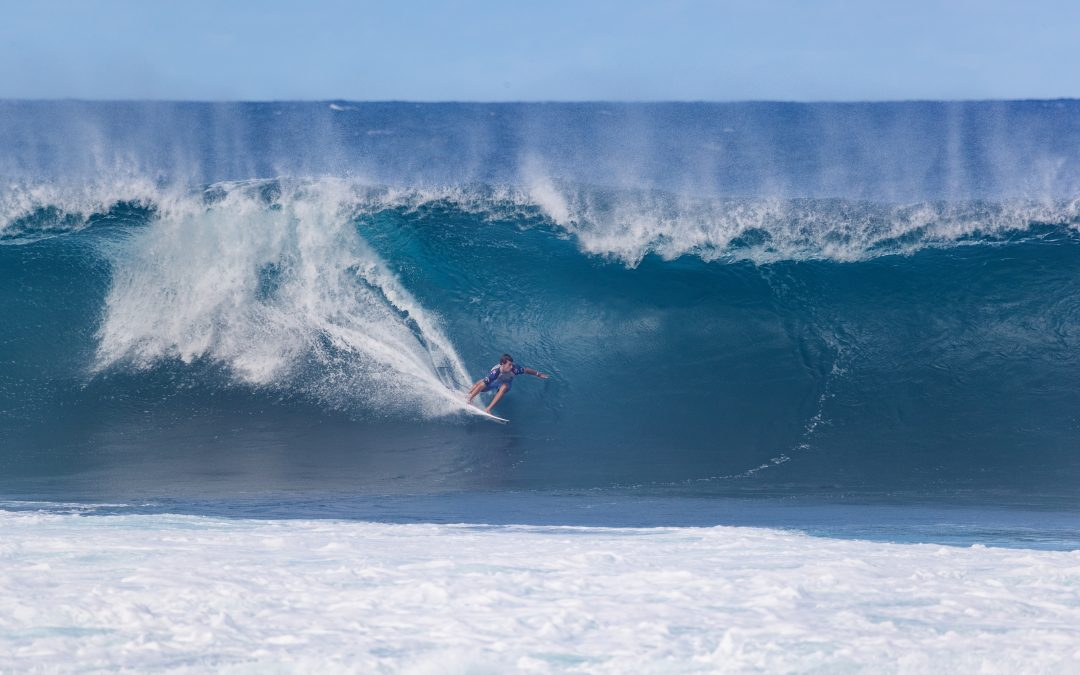 JACK ROBINSON DOMINATES THE THIRD DAY OF COMPETITION AT THE THE 50th EDITION OF THE PIPE MASTERS
