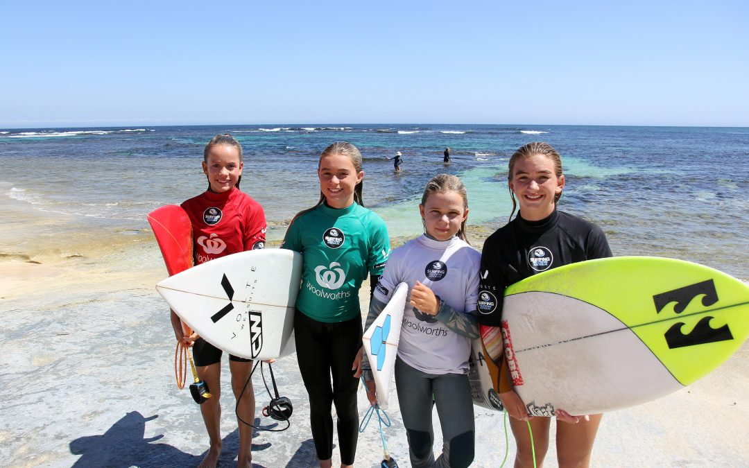 THE WOOLWORTHS JUNIOR SURF TITLES TO BRING THE BEST IN THE WEST TO MARGARET RIVER