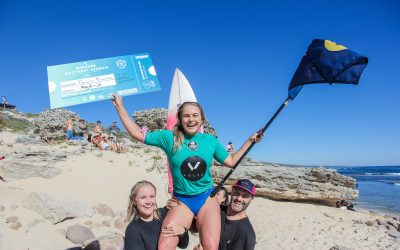 FELICITY PALMATEER & KAEL WALSH SECURE WILDCARDS INTO THE WORLD SURF LEAGUE ROTTNEST SEARCH EVENT