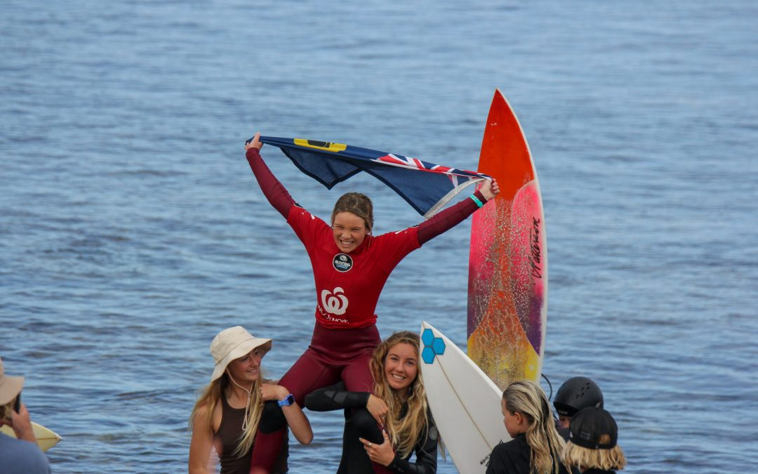 CHAMPIONS CROWNED AS THE WOOLWORTHS WA JUNIOR SURF TITLES WRAP UP IN GRAND STYLE