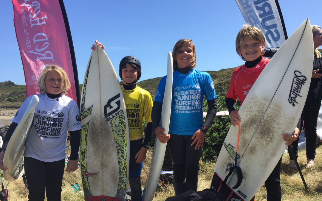 Woolworths Bruny Island Junior Surf Classic. Rd 1. 2021 State Titles.