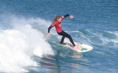 Toby Lawrence takes the U18/U21double at Woolworths/Rip Curl East Coast Junior Classic