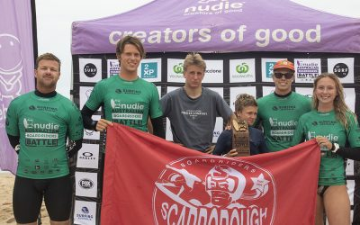 Scarborough wins nudie Australian Boardriders Battle in Kiama.