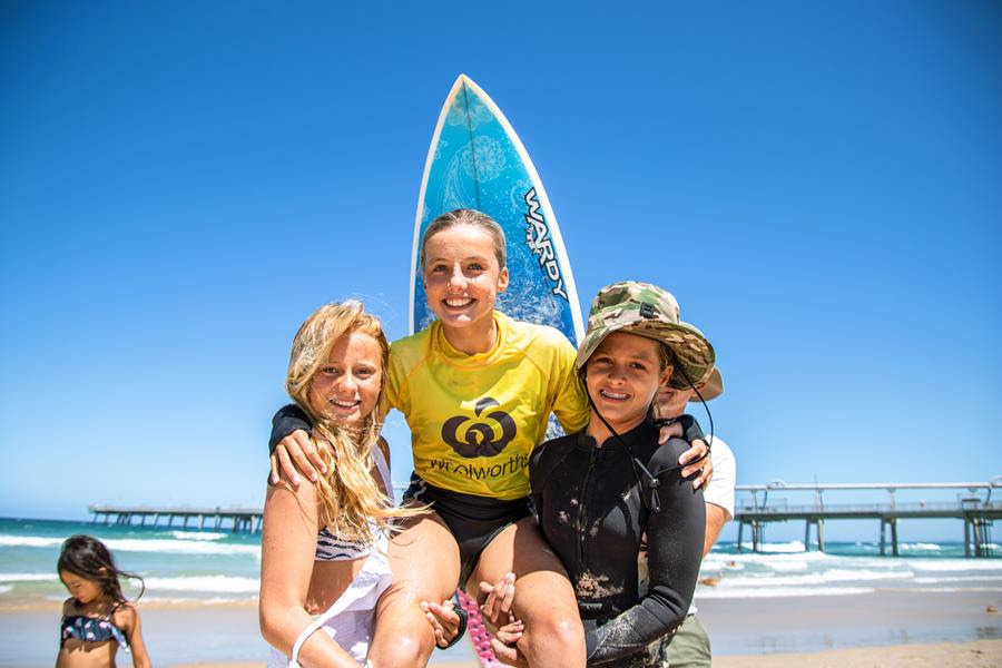 Grommets Shine On Finals Day at the Woolworths Surf Groms Comp!