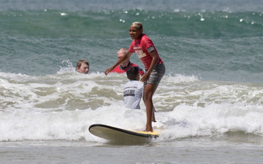 Communities gather for the Woorangalook Koori Surfing Titles on Wadawurrung Country