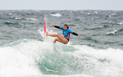 Competition Hits Birubi Beach For Opening Day of Port Stephens Pro pres. By Mad Mex