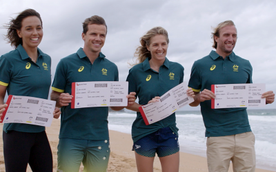 Aussie Surfers Stoked for Olympic Debut with Tokyo 2020 Selection