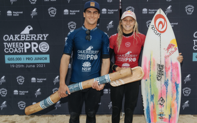 Molly Picklum and Callum Robson Clinch Victory at Oakberry Tweed Coast Pro
