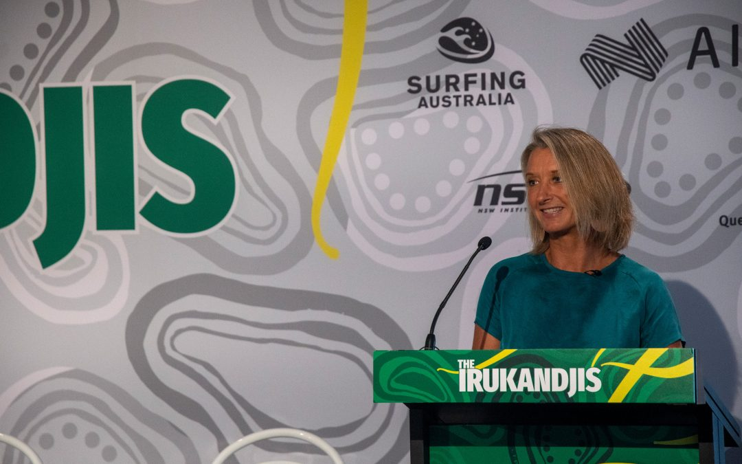 Layne Beachley – 7x world champ and Surfing Australia chair gives her take on the Olympics