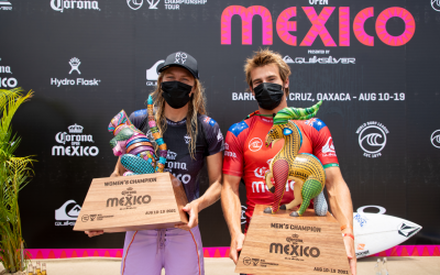 Aussies Stephanie Gilmore and Jack Robinson Win Corona Open Mexico Presented by Quiksilver