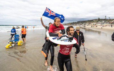 The Irukandjis Team Announced For Pismo Beach ISA World Para Surfing Championship