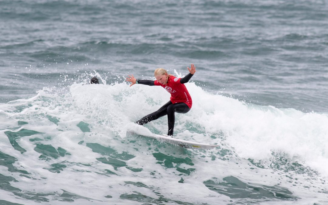 Day 1 of the Rip Curl Gromsearch marks the return of competitive surfing in Victoria