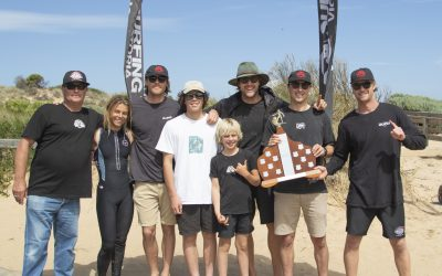 Torquay Boardriders claim Junior and Open Team division wins at Victorian Teams Titles held at Cape Woolamai