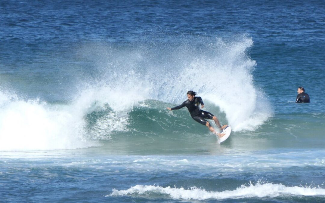 Surf Better Now Blog: How to maximise speed through your first forehand turn