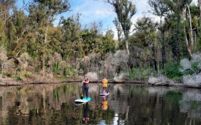 Stand-Up Paddle-Boarding Helps Heal Trauma-hit Community