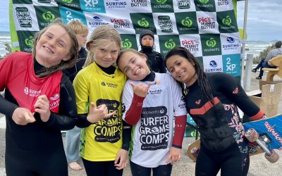 SA Champions Crowned at the Woolworth Surfer Grom Comp 2021