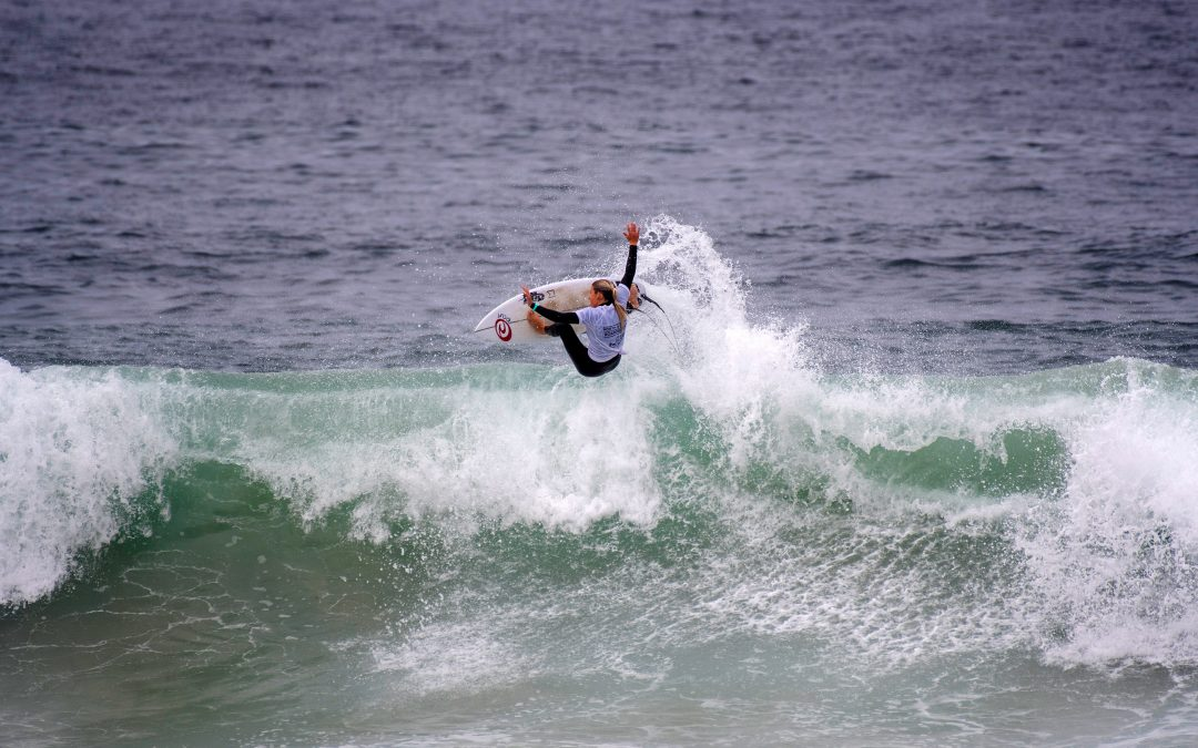 STAGE SET FOR US OPEN OF SURFING HUNTINGTON BEACH PRES. BY SHISEIDO