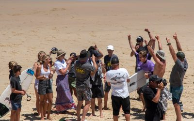 LE-BA CLAIM A HAT TRICK AT NUDIE AUSTRALIAN BOARDRIDERS BATTLE.