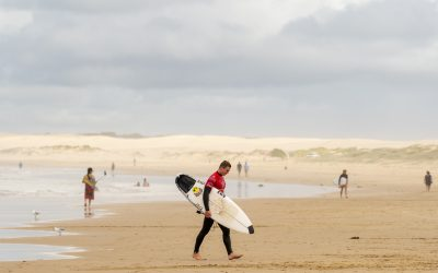 COMPETITION HITS BIRUBI BEACH FOR THE OPENING DAY OF THE PORT STEPHENS PRO PRES. BY MAD MEX