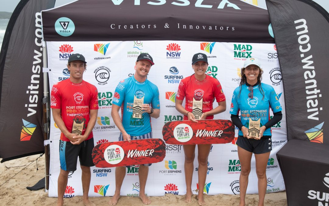 JACKSON BAKER AND KOBIE ENRIGHT WIN PORT STEPHENS PRO PRES. BY MAD MEX