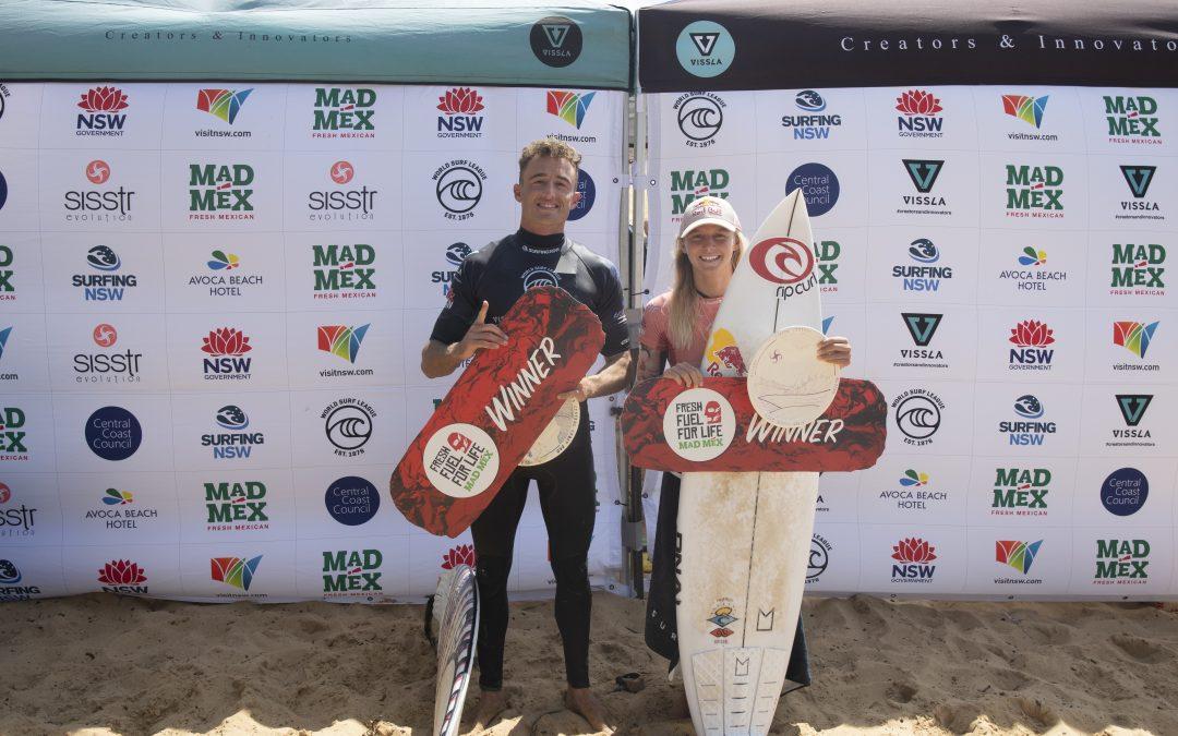 2021 VISSLA NSW PRO SURF SERIES RANKINGS