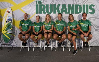 'THE IRUKANDJIS' AUSTRALIAN NATIONAL SURF TEAM UNVEILS NEW NAME AND IDENTITY AHEAD OF TOKYO OLYMPICS