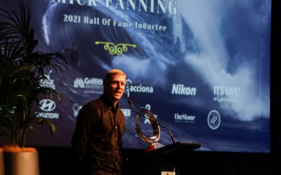 FANNING INDUCTED AT THE 2021 AUSTRALIAN SURFING AWARDS  INCORPORATING THE HALL OF FAME