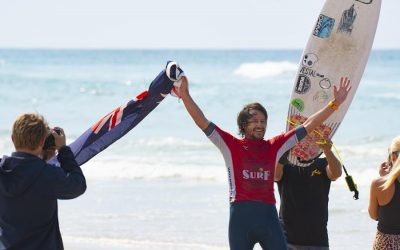 GREATER PORT MACQUARIE WELCOMES THE AUSTRALIAN SURF CHAMPIONSHIPS.