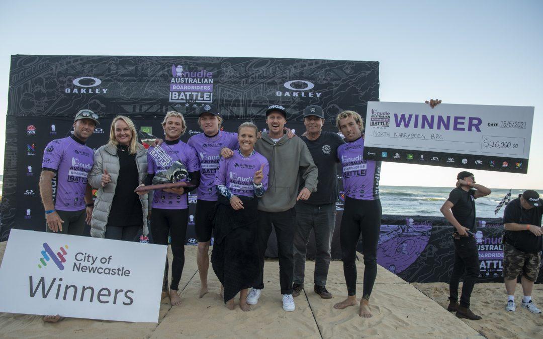 NORTH NARRABEEN WIN NUDIE AUSTRALIAN BOARDRIDERS BATTLE NATIONAL FINAL