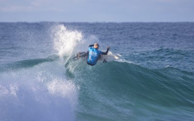 VOLKSWAGEN NSW SURFMASTERS GRACED WITH PUMPING SURF FOR DAY TWO OF COMPETITION.