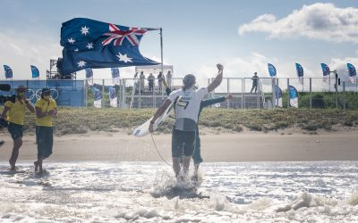 OWEN WRIGHT BECOMES THE FIRST-EVER OLYMPIC SURFING MEDALIST