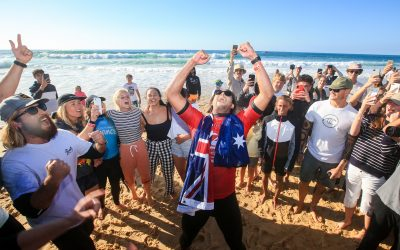 CONNOR O'LEARY WINS QUIKSILVER PRO FRANCE
